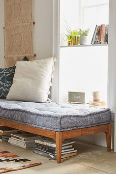 Assembly Home Hopper Daybed - Urban Outfitters. ~ this cushion for my 'settle.'