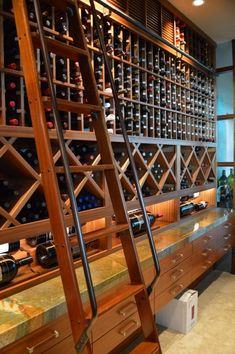 15 Incredible Home Wine Cellars For The Wine Connoisseur Beautiful Interior Design, Beautiful Interiors, Beautiful Homes, Kitchen Refrigerator, Wine Fridge, Slow Cooker Meal Prep, Sauce Pizza, Home Wine Cellars, Cellar Design