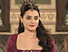 """Halime Sultan - Magnificent Century: Kösem - """"The Heart's Ache (Kalp Agrisi)"""" Season Episode 13 Sultan Kosem, Witch Outfit, Costume, Ottoman Empire, Fantasy Jewelry, More Photos, Indian Beauty, Pretty Woman, Wonder Woman"""
