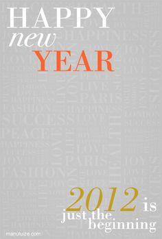 feliz ano novo! | happy new year!
