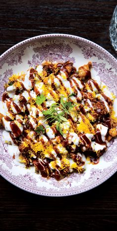 It's worth visiting an Indian grocer for a couple of ingredients: chaat masala, which is a sour-salty mix of ground spices, and the thin, crunchy seasoned noodles called sev, which add texture to the finished dish.