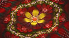 fraktál virágok
