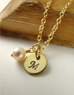 sweet wedding necklace