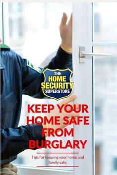 Hot Home Burglary Tips Home Security Alarm, Home Security Tips, Security Camera, Personal Security, Personal Safety, Home Protection, Home Safes, Home Defense, Home Design Decor