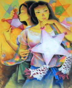 Remy Boquiren Born in Surigao City in she lives in Marikina Fine Arts Major at Univer. University Of The East, University Of Santo Tomas, Filipino Art, Filipino Culture, Surigao City, East School, Fine Arts Major, Apple Painting, Aurora Sleeping Beauty