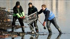 As defiant shoppers take trolleys home to evade plastic bag charges, supermarkets are being called on to do more to combat trolley thefts.
