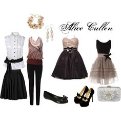 Alice Cullen (Twilight Saga Books) by abbeyroadgeek on Polyvore