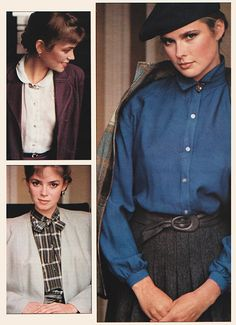 July 1979. 'Blouses: detailed and terrific.'