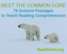 Brand New Science Passages | ReadWorks.org | The Solution to Reading Comprehension