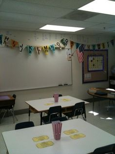 vintage inspired carnival classroom