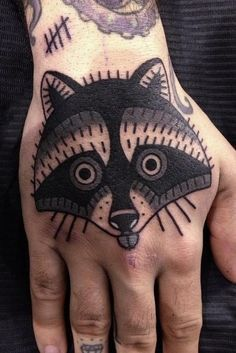 raccoon tattoo - Szukaj w Google