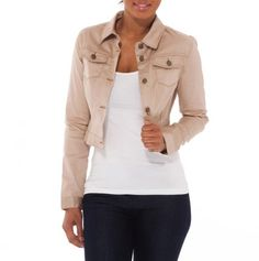 Cropped Jacket for casual style