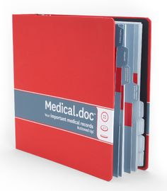 all your healthy related documents in one location so it's easy for a loved one to access in case of an emergency. Emergency Binder, Emergency Preparedness, In Case Of Emergency, Survival, Paper Organization, Paperwork Organization, Household Organization, Home Binder, Medical Journals