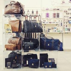 Showing at INDX Menswear - our British Bag collection.