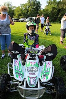 The Official DRR USA Blog: Alyssa Rodgers raced her DRR DRX 70 at Lightning R...