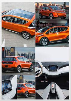#Chevrolet Bolt concept #EV.