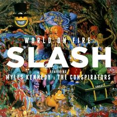 Slash is back with his 3 solo album, the second with his new band The Conspirators featuring Myles Kennedy (Alter Bridge), Todd Kerns and Brent Fitz Korn, Slash Solo, Apocalyptic Love, Rock Internacional, Rock And Roll, Slash Myles Kennedy, Alter Bridge, Vinyl Lp, Vinyls