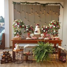 Romantic Wedding Decor, Our Wedding, Wedding Flowers, Wedding Cake Table Decorations, Bridal Shower Decorations, Simple Weddings, Cookies Et Biscuits, Rustic Decor, Inspire