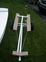 Image result for pvc boat dolly