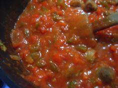 Photo by katew Creole Recipes, Cajun Recipes, Sauce Recipes, Beef Recipes, Cooking Recipes, Cajun Food, Copycat Recipes, Creole Sauce Recipe, Chinese Recipes