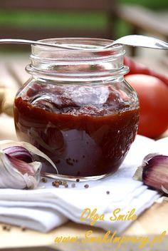 Pikantny i esencjonalny ketchup niemający sobie równych Ketchup, Chocolate Fondue, Preserves, Healthy Life, Chutney, Pudding, Salsa, Treats, Canning