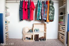 DIY Organized Kid's Closet Makeover – No More Wasted Space!