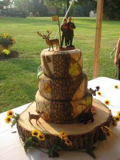 Can you say my big redneck wedding! Camo Wedding Cakes, Country Wedding Cakes, Wedding Cake Rustic, White Wedding Cakes, Rustic Cake, Wedding Cake Toppers, Redneck Cakes, Camouflage Cake, Groomsman Cake