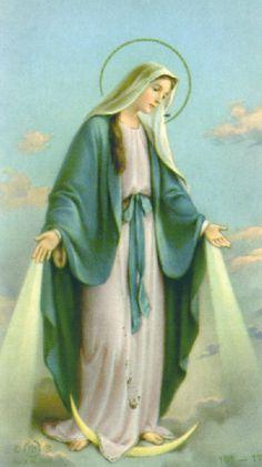 The Virgin Mary, Mother of God, Queen of Heaven