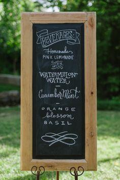 Signature wedding cocktails: http://www.stylemepretty.com/utah-weddings/salt-lake-city/2014/06/06/elegant-southern-fairytake-in-salt-lake/ | Photography: Heather Parkinson - http://heathernanphotography.com/