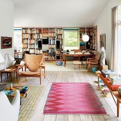 Caroline de Maigret, Harley Viera-Newton, and Hamish Bowles show us the 11 best interiors of the week, from Milan to Paris and beyond. Schindler House, Best Interior, Interior Design, Monday Inspiration, Room Inspiration, Nordic Home, Harley, Room Pictures, Scandinavian Interior