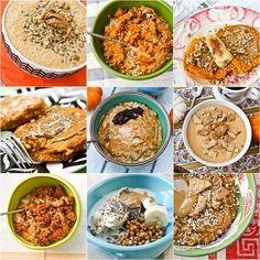 Pumpkin Breakfasts (Oatmeal, Pancakes)