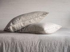 Linen Pillowcase Stone Washed Super Soft Standard by BeaLinen