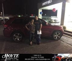 Congratulations Kevin on your #Jeep #Grand Cherokee from Randy OBrien at Hoyte Dodge RAM Chrysler Jeep!  https://deliverymaxx.com/DealerReviews.aspx?DealerCode=R491  #HoyteDodgeRAMChryslerJeep