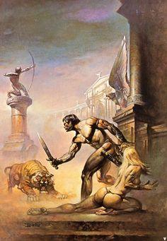 Boris Vallejo – I Am a Barbarian