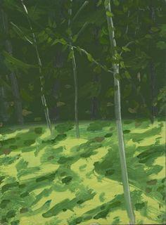 Alex Katz 'Young Trees', 1989 © Alex Katz