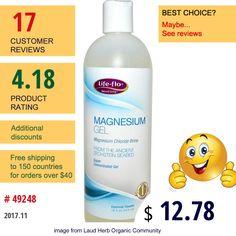 Life Flo Health #LifeFloHealth #Minerals #Magnesium #MagnesiumChloride