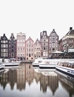 color inspiration/possible artwork Urban Landscape photography | From the water | Amsterdam, The Netherlands