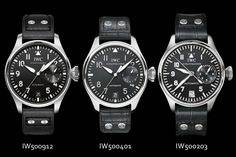 IWC Big Pilots Watch 3 generations