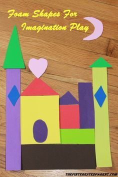 Foam Shapes For Imagination & Creative Play - Great inspired play