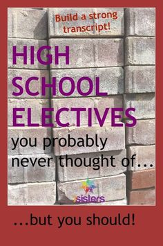 Electives in High School are some of the best courses your teen will ever take. Have you thought of these electives? Homeschool High School, Homeschool Curriculum, Homeschooling Resources, Catholic Homeschooling, Teacher Resources, Importance Of Time Management, High School Years, High School Classes, Gymnasium