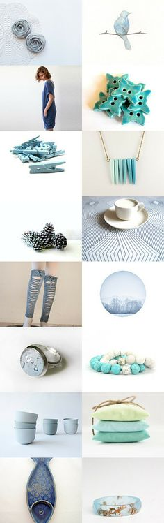 In Blue by Niki and Sophie on Etsy--Pinned with TreasuryPin.com
