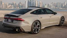 FINALLY! 2021 AUDI RS7 WITHOUT THE OPF FILTER - NARDO GREY BEAST IN NON-...