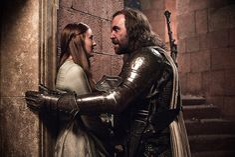 Why didn't we get to see this scene? :cries: Sandor Clegane & Sansa Stark