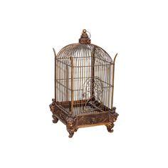 Conservatory Bird cage - Victorian Birdcage found on Polyvore