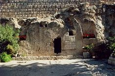 The Garden Tomb - in Jerusalem where Christians believe Jesus was buried and resurrected.