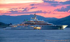 Eclipse - 162.5m - 533ft 1in - Blohm + Voss - 2010 - Spotted in Scotland