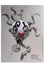 Resultado de imagen de killer klowns concept art chiodo