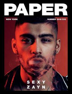 Zayn Malik Covers Paper Magazine Wearing An Enfants Riches Déprimés Leather Jacket