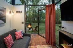 The Roadhaus: a stunning modern RV home from Wheelhaus with a beautifully designed interior.