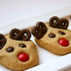 #Peanut Butter #Reindeer #Cookies